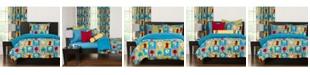 Crayola Monster Friends 5 Piece Twin Duvet Set