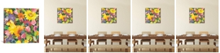 """iCanvas """"Russian Garden"""" By Kim Parker Gallery-Wrapped Canvas Print - 12"""" x 12"""" x 0.75"""""""
