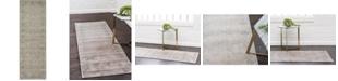 Bridgeport Home Bellmere Bel1 Gray 2' x 6' Runner Area Rug