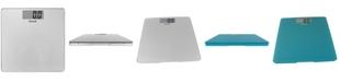 Escali Corp Glass Platform Bathroom Scale, 440lb