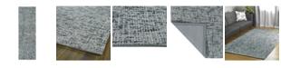 """Kaleen Lucero LCO01-68 Graphite 2'6"""" x 8' Runner Rug"""