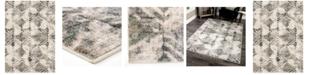 "Palmetto Living Riverstone Maverick Cloud Gray 5'3"" x 7'6"" Area Rug"
