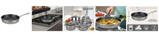 """Amercook Die Cast Aluminum Round Frying Pan with Induction Bottom 8.7"""""""