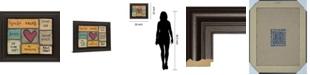"Classy Art House Rules by Lisa Larson Framed Print Wall Art, 22"" x 26"""