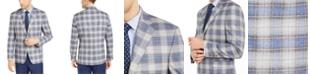 Lauren Ralph Lauren Men's Classic-Fit UltraFlex Tan & Blue Plaid Sport Coat