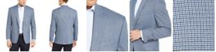 Lauren Ralph Lauren Men's Classic-Fit UltraFlex Light Blue Houndstooth Sport Coat