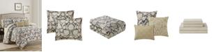 Mytex Alexandra Floral  10-Piece Reversible King Comforter Set