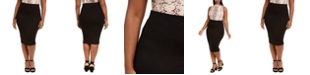 Bar III Bodycon Midi Skirt, Created for Macy's