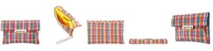 Nina Janette Tweed Envelope Clutch