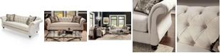Furniture of America Wainwright Upholstered Sofa