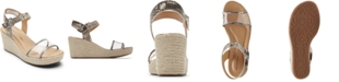 Rockport Women's Lyla Two-Piece Wedge Sandals