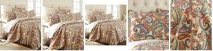 Levtex Alyssa Paisley Reversible Full/Queen Quilt Set