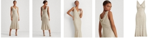 Lauren Ralph Lauren Sequin-Lace Sleeveless Dress