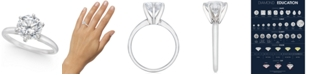 Macy's Diamond Solitaire Engagement Ring (1-1/2 ct. t.w.) in 14k White or Yellow Gold