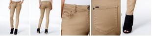 Celebrity Pink Juniors' Jayden Mid-Rise Colored Wash Skinny Jeans