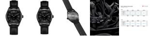 Hamilton Men's Swiss Khaki Field Black Rubber Strap Watch 40mm H68401735