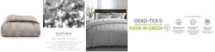 "Charter Club 3"" Full/Queen Reversible Comforter, 100% Supima Cotton 550 Thread Count, Created for Macy's"
