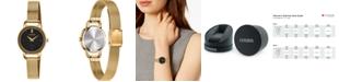 Citizen Women's Quartz Gold-Tone Stainless Steel Mesh Bracelet Watch 26mm