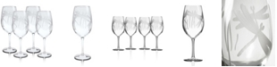 Rolf Glass Dragonfly All Purpose Wine 18Oz - Set Of 4 Glasses