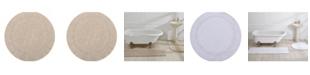 "Better Trends Lux Round Bath Mat 30"""