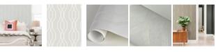 "Brewster Home Fashions Coventry Trellis Wallpaper - 396"" x 20.5"" x 0.025"""