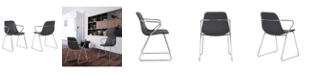 Armen Living Colton Dining Chair, Set of 2