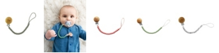 Tiny Teethers Designs 3 Stories Trading Tiny Teethers Infant Silicone Pacifier Clip