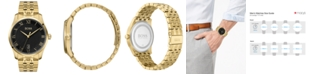 BOSS Men's Master Gold Ion-Plated Stainless Steel Bracelet Watch 41mm