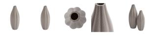Howard Elliott Matte Stone Textured Vase, Small