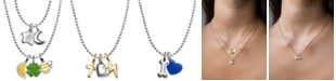 Alex Woo Mini Charms in Sterling Silver & 14k Gold