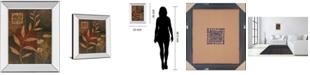 "Classy Art Copper Rhythm I by Vivian Flasch Mirror Framed Print Wall Art, 22"" x 26"""