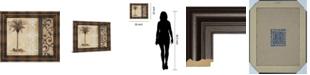 "Classy Art Decorative Palm II by Michael Marcon Framed Print Wall Art, 22"" x 26"""