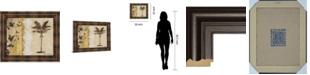 "Classy Art Decorative Palm I by Michael Marcon Framed Print Wall Art, 22"" x 26"""