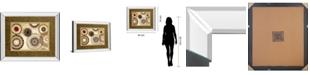 "Classy Art Egyptian Textile by Michael Marcon Mirror Framed Print Wall Art, 34"" x 40"""