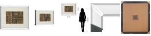 "Classy Art Kuba Abstract by Sue Schlabach Mirror Framed Print Wall Art, 34"" x 40"""