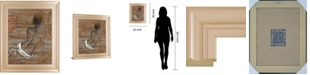 "Classy Art Vivenne by Saro Framed Print Wall Art, 22"" x 26"""