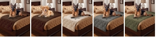 P/Kaufmann Home Pet Pals Quilted Faux Suede Twin Bed Protector