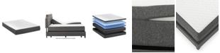 """Motion Trend 10"""" Memory Foam Eastern King Split Mattress"""