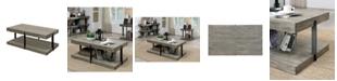 Furniture of America Malverne Open Storage Coffee Table