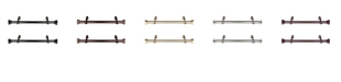 "Rod Desyne 1"" Side Curtain Rod 12-20"" (Set of 2)"