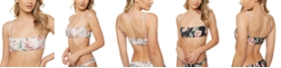 O'Neill Juniors' Van Don Floral Reversible Bralette Bikini Top
