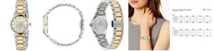 Gucci Women's Swiss G-Timeless Two-Tone Stainless Steel Bracelet Watch 27mm