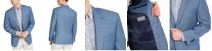 Michael Kors Men's Classic-Fit Light Blue Sport Coat