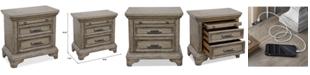 Furniture Bristol Bedroom USB Nightstand