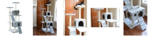 GleePet Cat Tree with 2 Condos and Ramps