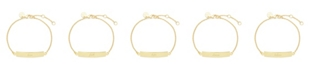 brook & york Inspirational Bar Bracelet