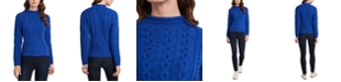 Riley & Rae Brielle Cable-Knit Sweater, Created for Macy's
