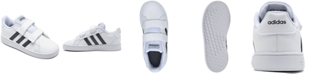 adidas Toddler Grand Court Casual Sneakers from Finish Line