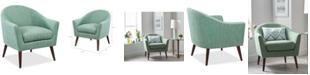 Furniture Darwin Fabric Accent Chair