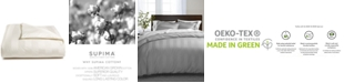 "Charter Club 3"" Stripe Full/Queen Duvet Cover, 100% Supima Cotton 550 Thread Count, Created for Macy's"